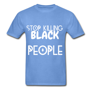 BLACK LIVES MATTER  T-Shirt - carolina blue