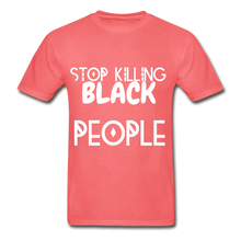 Load image into Gallery viewer, BLACK LIVES MATTER  T-Shirt - coral