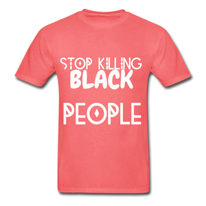 BLACK LIVES MATTER  T-Shirt - coral
