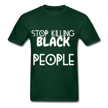 Load image into Gallery viewer, BLACK LIVES MATTER  T-Shirt - forest green