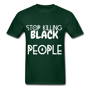 BLACK LIVES MATTER  T-Shirt - forest green