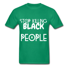 Load image into Gallery viewer, BLACK LIVES MATTER  T-Shirt - kelly green