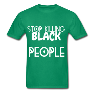 BLACK LIVES MATTER  T-Shirt - kelly green