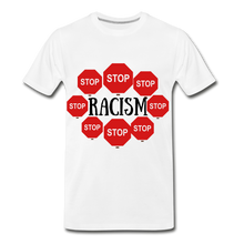 Load image into Gallery viewer, BLACK LIVES MATTER COLLECTION Men's Premium T-Shirt - white