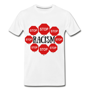 BLACK LIVES MATTER COLLECTION Men's Premium T-Shirt - white