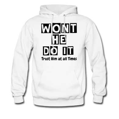 FAITH COLLECTION Men's Hoodie - white