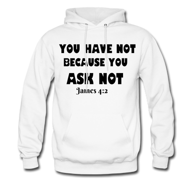 FAITH COLLECTION Women/Men's Hoodie - white