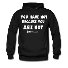 Load image into Gallery viewer, FAITH COLLECTION Women/Men's Hoodie - black
