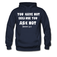 Load image into Gallery viewer, FAITH COLLECTION Women/Men's Hoodie - navy