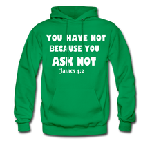 Load image into Gallery viewer, FAITH COLLECTION Women/Men's Hoodie - kelly green