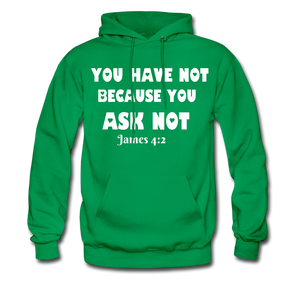 FAITH COLLECTION Women/Men's Hoodie - kelly green