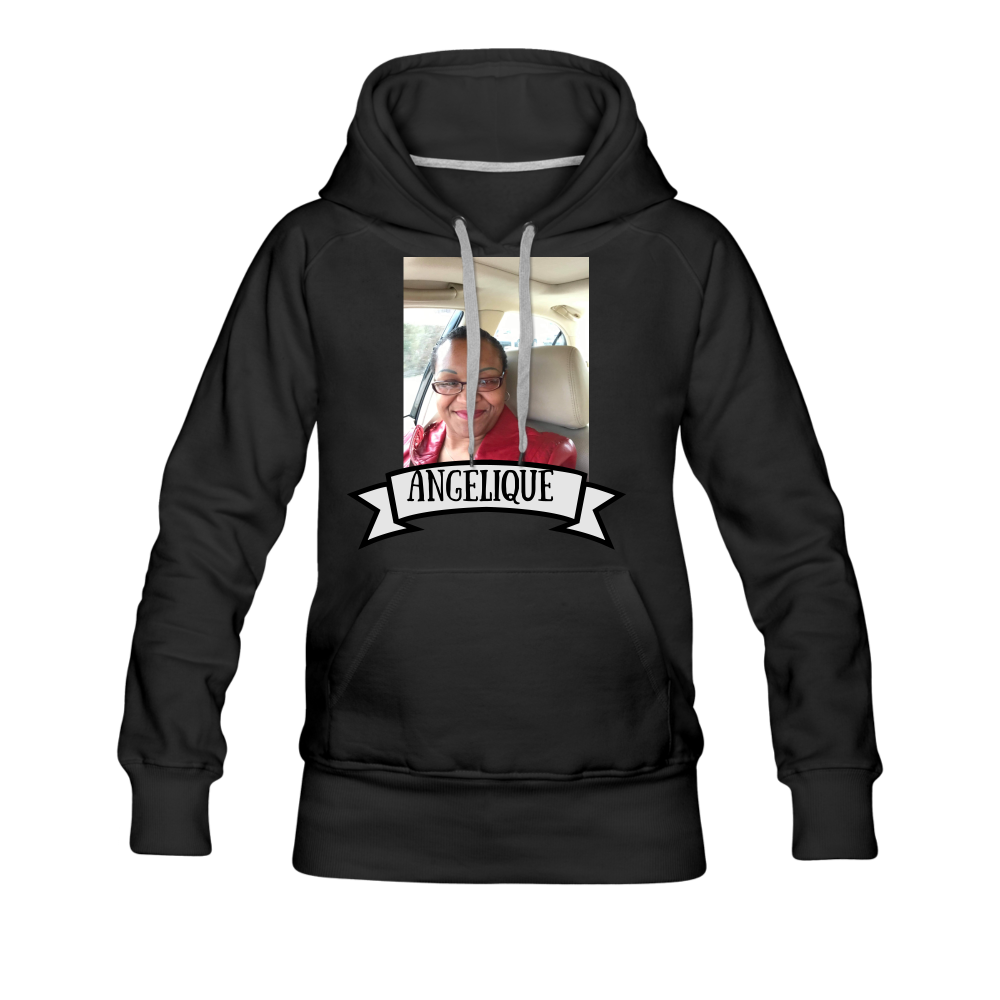 PERSONALIZED Women's/Men Premium Hoodie - black