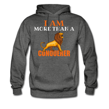 Load image into Gallery viewer, I AM MORE THAN COLLECTION Women/Men's Hoodie - charcoal gray