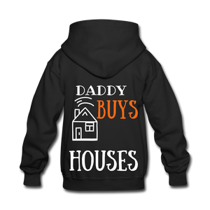 WE BUY HOUSES COLLECTION Kids' Hoodie - black
