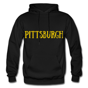 PITTSBURGH COLLECTION Gildan Heavy Blend Adult Hoodie - black