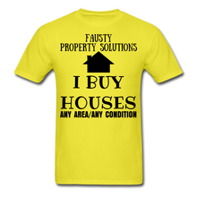 Load image into Gallery viewer, I BUY HOUSES COLLECTION Unisex Classic T-Shirt - yellow