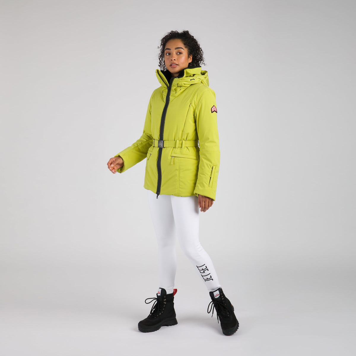 Belted Women Ski Jacket