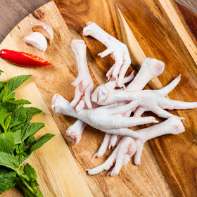 Fresh Cage Free Chicken [Feet, 1KG]