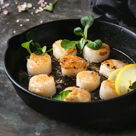 Clearwater Canadian Scallop Meat Wild [2.27KG]