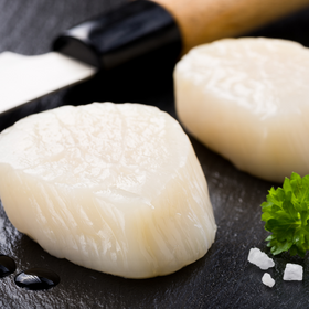 Canadian Sustainable Scallop Meat Wild [2.27KG]