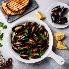 Chilean Mussels [Whole/ Half Shell/ Meat Only]