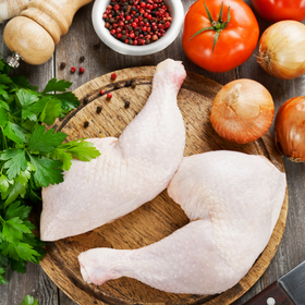 Fresh Cage Free Chicken [Leg, 2 pkt]