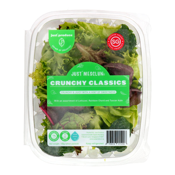 Best Mesclun Salad Crunchy Classics [100g] #SupportLocal - SuperFresh Grocer Singapore