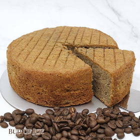 Organic Coffee Butter Cake