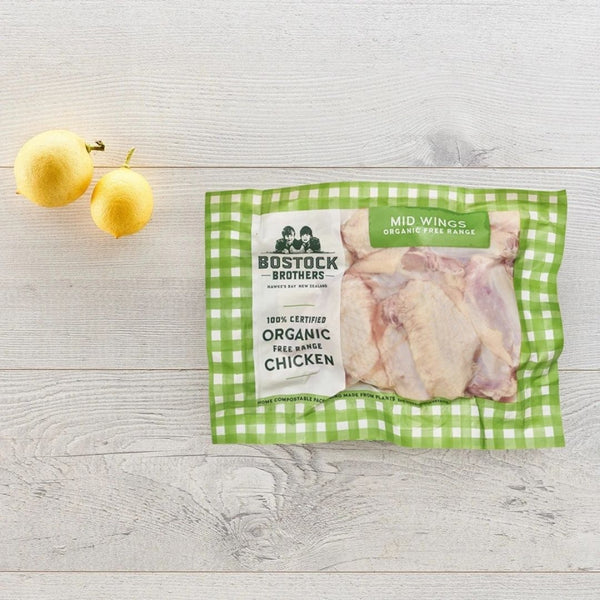 Best Organic Pastured Chicken Mid-Joint Wings - SuperFresh Grocer Singapore