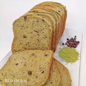 Organic Matcha Red Bean Soft Loaf