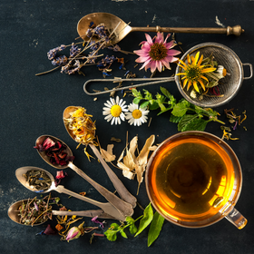 Loose Flower Tea [Chrysanthemum/ French Rose/ Jasmine/ Osmanthus/ Roselle]
