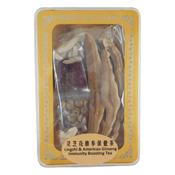 Best Lingzhi & American Ginseng Immunity Boosting Tea Pack - SuperFresh Grocer Singapore