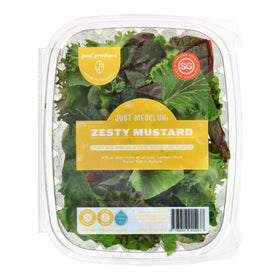 Zesty Mustard Salad [100g] #SupportLocal