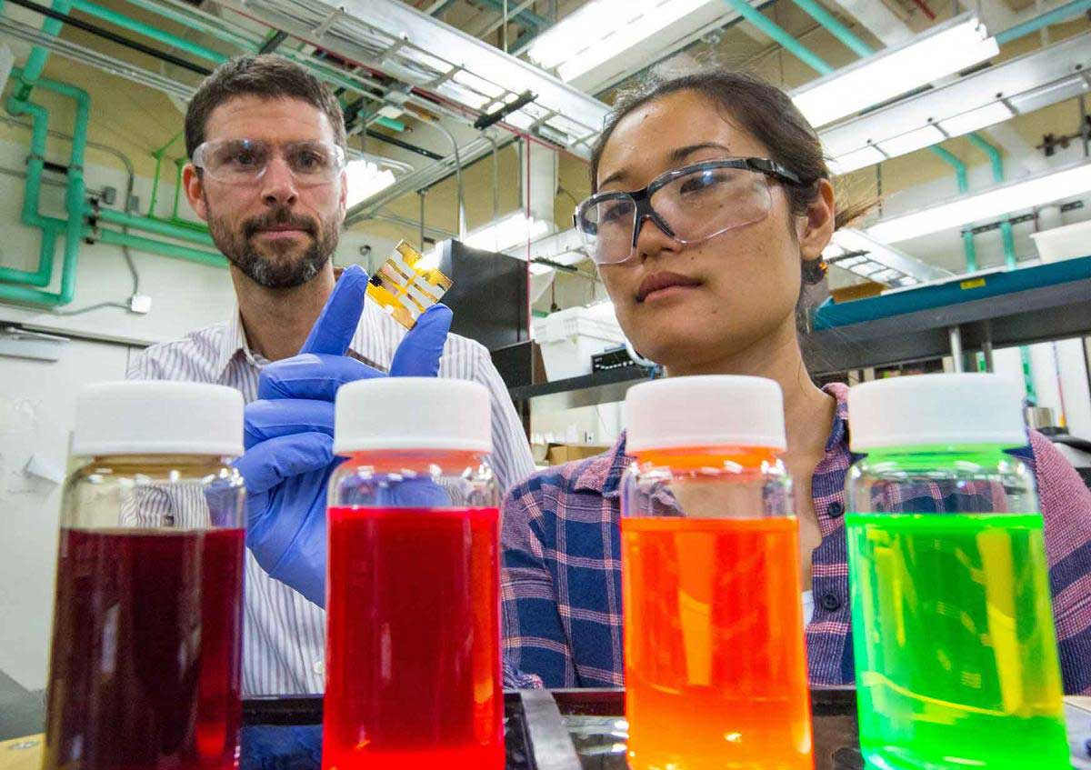 Solar paints are being developed