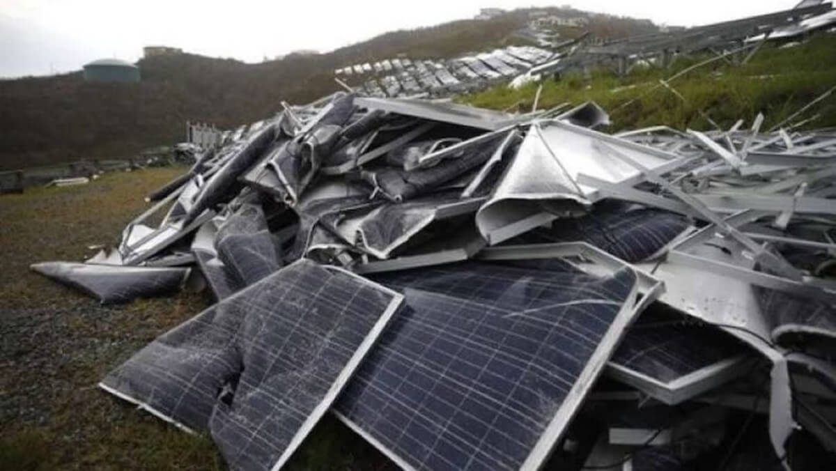 Difficulties of Recycling Solar Panels