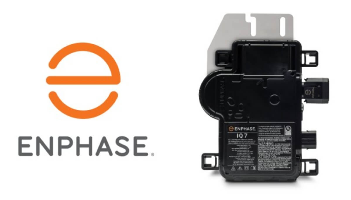 Enphase IQ7 microinverters for solar systems