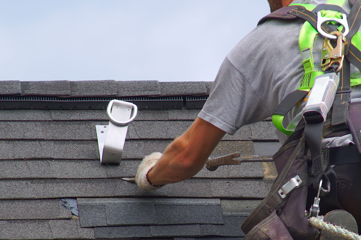 Safety Protection System solar installation