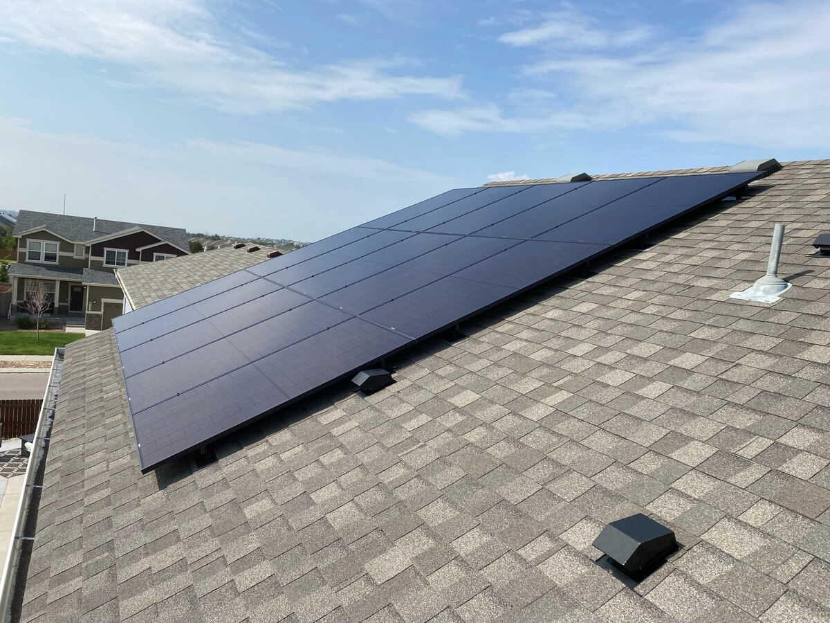Project Solar installation in CO