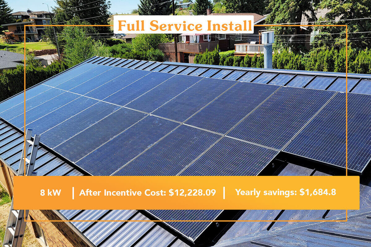Full-Service Project Solar installation in Montana