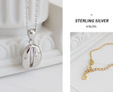 925 Sterling Silver Pendant Gold Layered Chain Necklace for Lady Womens Jewelry