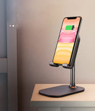 Adjustable Cell Phone Desk Stand Holder for All Mobile Smart Phone Tablet Display