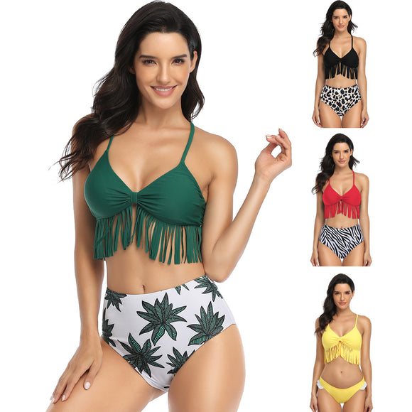 Women's High Waisted Bikini Sets Two Piece Swimsuit Bathing Suit