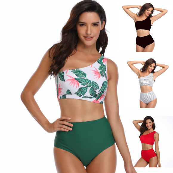 Womens High Waisted Bikini Set Bathing Suits Two Piece Swimsuits