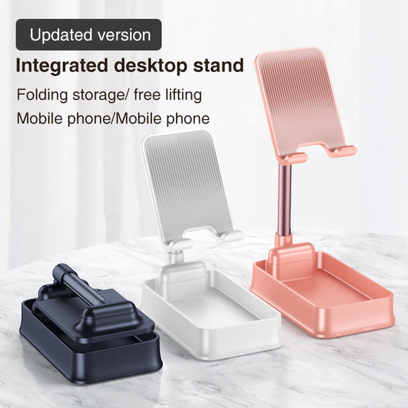 Cell Phone Stand,Angle Height Adjustable Mobile Stand For Desk, Phone Holder Stand