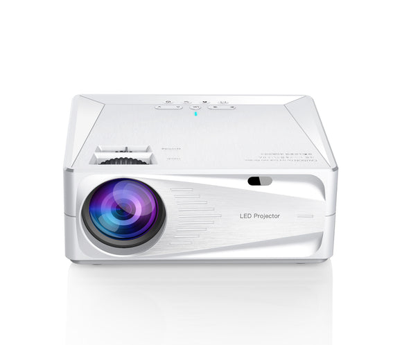 Hd Smart Projector Home 3200 Lumen LCD LED Mobile Phone Projector WIFI Home Theater