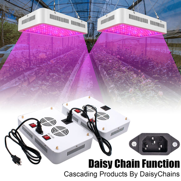 1000W  LED Grow Light Full Spectrum for Greenhouse and Indoor Plant Veg and Flower Dual Chips