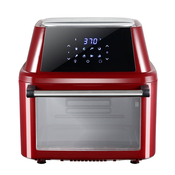 ZOKOP KAFO-1800A-D1 120V 16 L Air Fryer Oven 1800W Wine Red