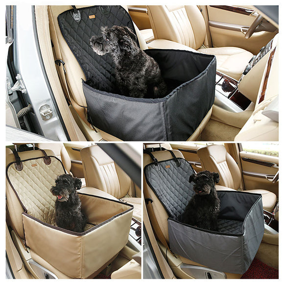 Waterproof Dog Pet Car Seat Covers Washable Automotive Cat Carrier for Travel
