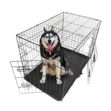 "36"" Pet Kennel Cat Dog Folding Steel Crate Animal Playpen Wire Metal"
