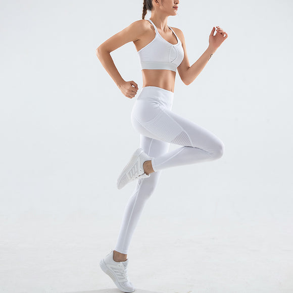 Yoga Suit For Women Sport Clothing Fitness Vest Tights Sets Dancing Dress
